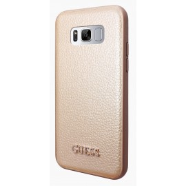 Coque Samsung Galaxy S8 plus Guess Iridescent Collection Gold