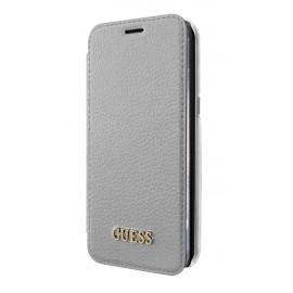 Etui Samsung Galaxy S8 plus G955 Guess folio gris