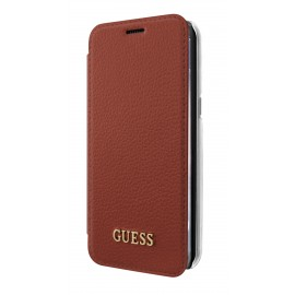 Etui Samsung Galaxy S8 plus G955 Guess folio rouge