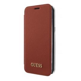Etui Samsung Galaxy S8 G950 Guess folio rouge
