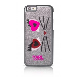 Coque iPhone 6 / 6s Karl Largerfeld Choupette In Love