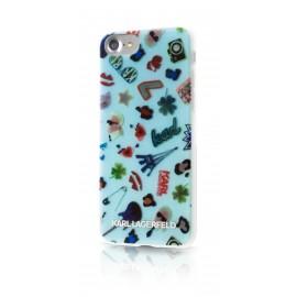 Coque iPhone 7 Karl lagerfeld Aquarel