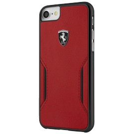 Coque iphone 7 plus Ferrari Heritage rouge