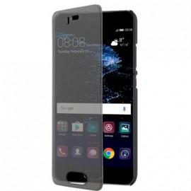 Etui Huawei P10 à rabat tactile noir de Puro