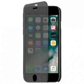 Etui iphone 7 à rabat tactile noir de Puro