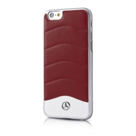 COQUE APPLE IPHONE 6 / 6s MERCEDES WAVE III ROUGE