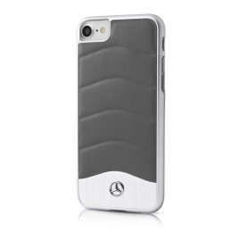 COQUE APPLE IPHONE 6 / 6s MERCEDES WAVE III GRIS FONCE