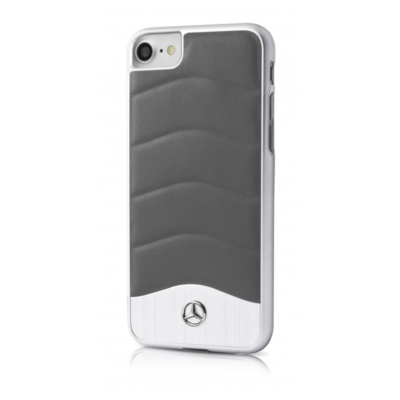 coque apple iphone 6 6s mercedes wave iii gris fonce