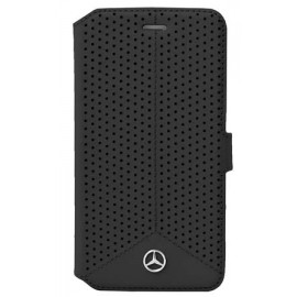 Etui Sony Xperia Z5 Mercedes Benz Perforated folio noir