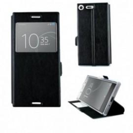 Etui Sony Xperia XZ1 folio stand vision noir