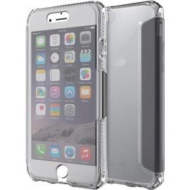 Etui iPhone 6 / 6S / 7 / 8 Itskins folio Spectra transparent