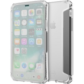Etui iPhone X Itskins folio Spectra transparent