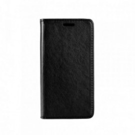 Etui Iphone X folio stand noir