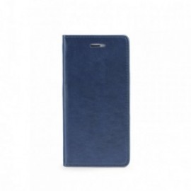 Etui Iphone X folio stand bleu nuit