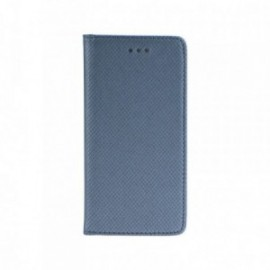 Etui Iphone X folio stand gris