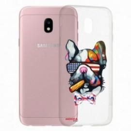 COQUE Samsung galaxy J3 2017 crystal bump chien