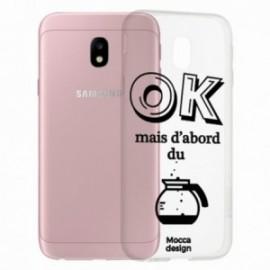 COQUE Samsung galaxy J3 2017 crystal bump OK CAFE