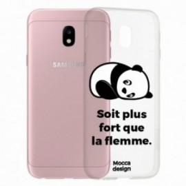 COQUE Samsung galaxy J5 2017 crystal bump Panda