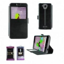 Etui Motorola E4 Plus book vision noir