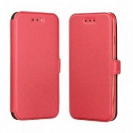 Etui Iphone 6/6s Folio Pocket rouge