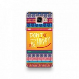 Coque Sony Xperia XZ1 motif Don't Worry Be Happy Fleche