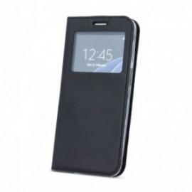 Etui Sony Xperia XA folio look noir