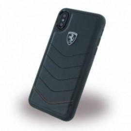 Ferrari Coque Apple iPhone X Heritage Quilted Leather