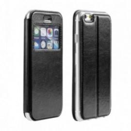 Etui Iphone 10 folio quick vision noir