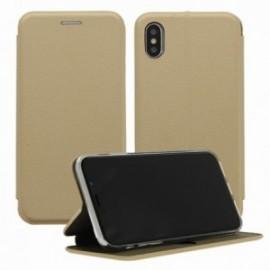 Etui Iphone X folio or intérieur gel