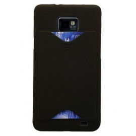 Coque Samsung galaxy s2 + rangement carte