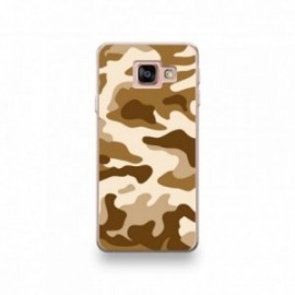Coque Wiko View motif Camouflage Marron