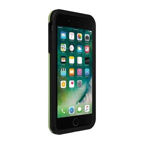 Coque iPhone 7 Plus / iphone 8 Plus rigide Lifeproof SLAM noire et verte