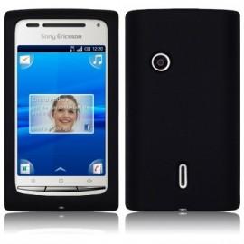 Coque Sony Ericsson xperia x8 noir