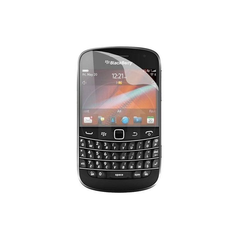 Prot ge cran blackberry 9900 bold touch destination telecom for Photo ecran blackberry