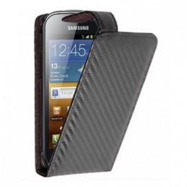 Etui Samsung Galaxy ace 2 i8160 carbone noire