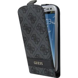 Etui Guess Samsung Galaxy S3 I9300 gris motif