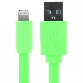 Câble Data Apple iPhone 5 vert