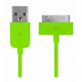 Câble Data Iphone 3GS/4/4S/ Ipad 2&3&4 vert