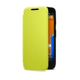 Etui Motorola G flip shell jaune origine motorola
