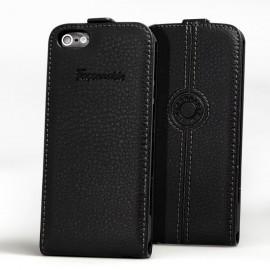 Etui Faconnable iphone 5 / 5S / SE noir