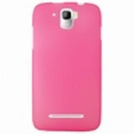 Coque Logicom E500 silicone rose