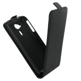 Etui Acer Liquid Z4 carbone noir