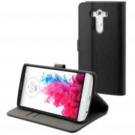 Etui LG G3 folio slim noir