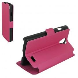 Etui LG F70 stand case fuchsia