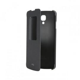 Etui LG F70 noir QUICK WINDOW CCF-390 origine