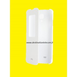 Etui LG F70 blanc QUICK WINDOW CCF-390 origine