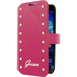 Etui Galaxy Trend lite S7390 Guess clouté rose