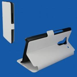 Etui Acer Liquid Z5 folio stand blanc