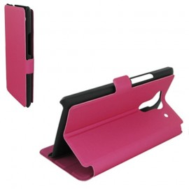 Etui Acer Liquid Z5 folio stand rose