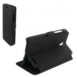 Etui Alcatel OT 5050/POP S3 Book case stand noir
